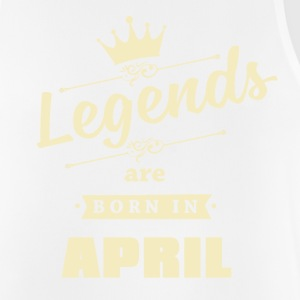 Legends are born in April - Men's Breathable Tank Top
