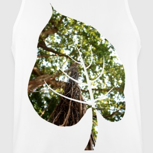 Leaf in tropical forest - Men's Breathable Tank Top