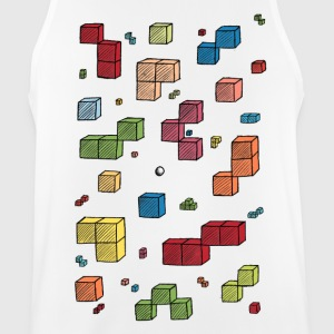 Colorful cubes - Men's Breathable Tank Top