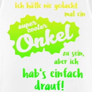 Super Cool Uncle - Mannen tanktop ademend
