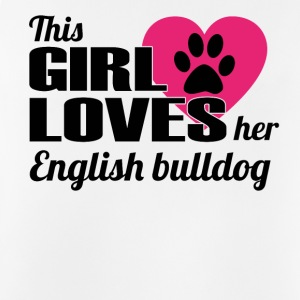DOG THIS GIRL LOVES GIFT English bulldog - Men's Breathable Tank Top