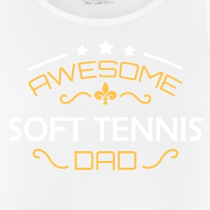Soft tennis pappa - Pustende singlet for menn