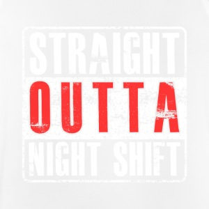 Straight Outta Nightshift - Men's Breathable Tank Top