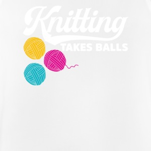 Knitting takes balls - Men's Breathable Tank Top