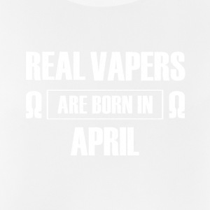 vapers reales nacen en abril - cumpleaños - Camiseta sin mangas hombre transpirable