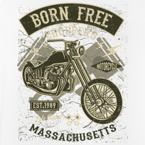 Born Free Choppers. Retro Motorcycle & Chopper Shirt - Men's Breathable Tank Top