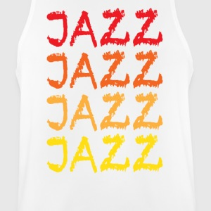 jazz - Pustende singlet for menn