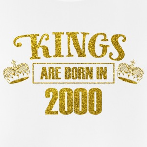 kings are born in 2000 - Geburtstag Koenig Gold - Männer Tank Top atmungsaktiv