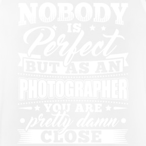Funny Photographer shirt Nobody Perfect - Herre tanktop åndbar