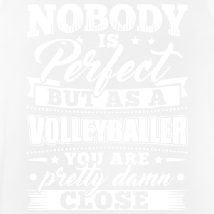 Funny Volleyball Player Shirt Nobody Perfect - Men's Breathable Tank Top