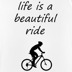 lifes a beautiful ride - Men's Breathable Tank Top