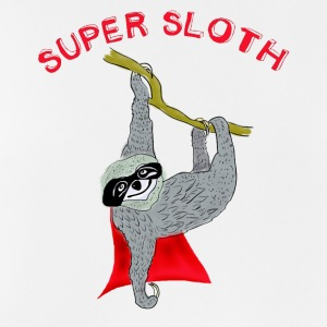 super sloth sloth chilling søvn Slow nerd lat - Pustende singlet for menn