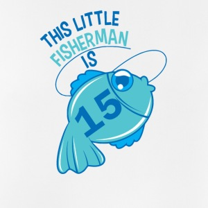 This Little Fisherman Is 15 Years Old - Men's Breathable Tank Top