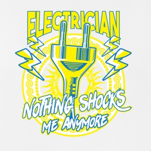 ELECTRICIAN nothing shocks me anymore - Männer Tank Top atmungsaktiv