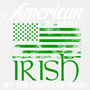 American by Birth - Irish by the grace of God - Men's Breathable Tank Top