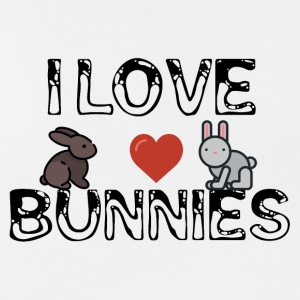 I love bunnies - Men's Breathable Tank Top