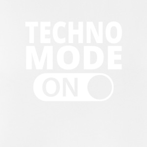 MODE ON TECHNO - Mannen tanktop ademend