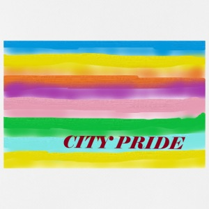 City Pride - Camiseta sin mangas hombre transpirable
