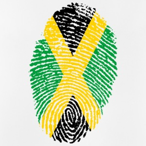 JAMAICA FINGERPRINT. RASTAFARI REGGAE RASTA - Men's Breathable Tank Top