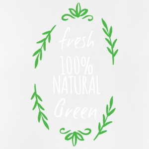 Fresh 100% Natural og Green - frisk 100% Natural - Pustende singlet for menn