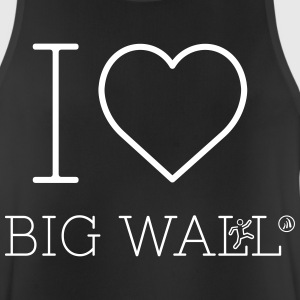 Jeg elsker Big Wall - Pustende singlet for menn