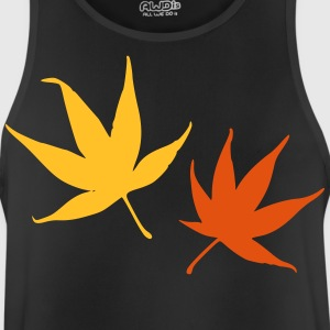 autumn leaves - Men's Breathable Tank Top