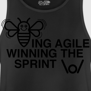 BEING AGILE WINNING THE SPRINT - Men's Breathable Tank Top