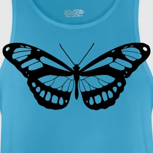 Butterfly silhouette - Men's Breathable Tank Top