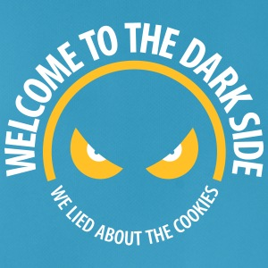 Welcome To The Dark Side,We Lied About The Cookies - Men's Breathable Tank Top