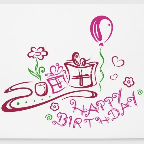 hyvää syntymäpäivää onnittelut designerilta christine krahl