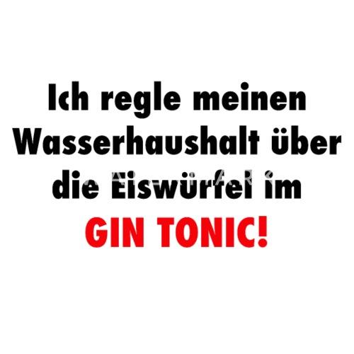 Lustige Spruche Alkohol Trinken Saufen Gin Tonic Mousepad Spreadshirt