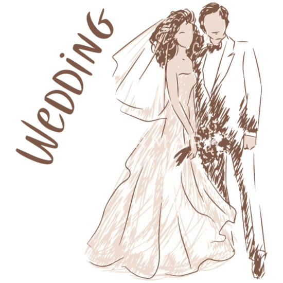 0fea81708 Wedding Bridal Couple Just Married Wedding Gift Mouse Pad | Spreadshirt