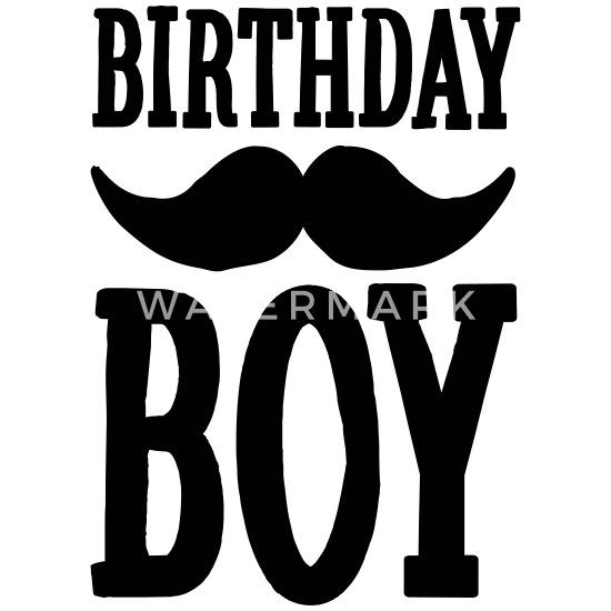 Birthday Boy Hipster Mousepad