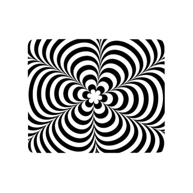 Optical Illusion Impossible Black White Op Art