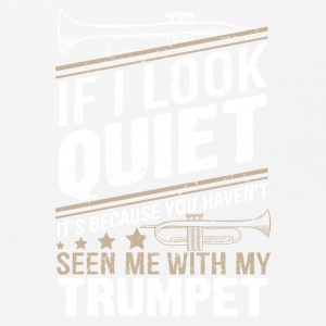 Trumpet if i look quiet - Mouse Pad (horizontal)