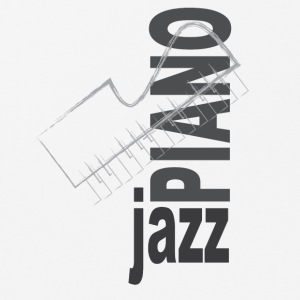 Jazz Piano - Alfombrilla de ratón (horizontal)