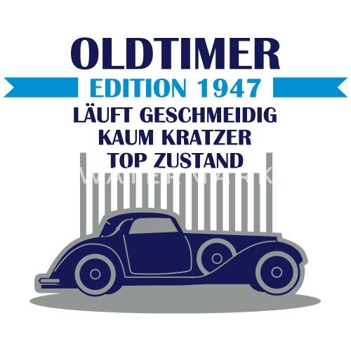 Geburtstag Oldtimer Edition Jahrgang 1947 Untersetzer Spreadshirt