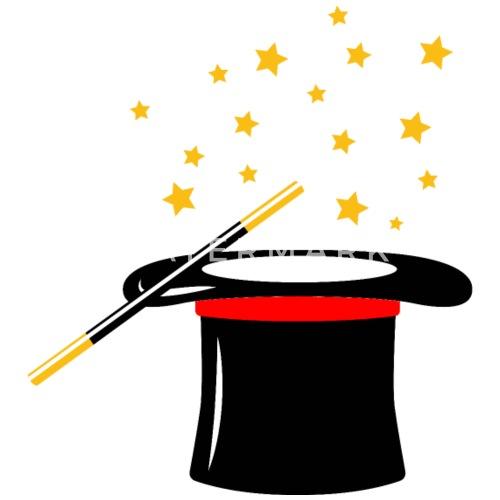 Zauberhut Magier Magiker Zauberer Zauberstab Untersetzer Spreadshirt