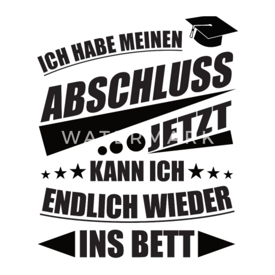 Abschluss Spruch Schulabschluss Motto Abi Klasse Untersetzer 4er Set Weiß