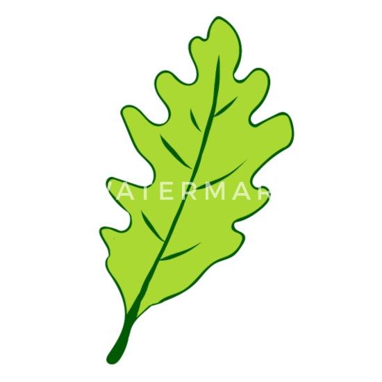 Oak Oak Leaf Tree Coasters Spreadshirt