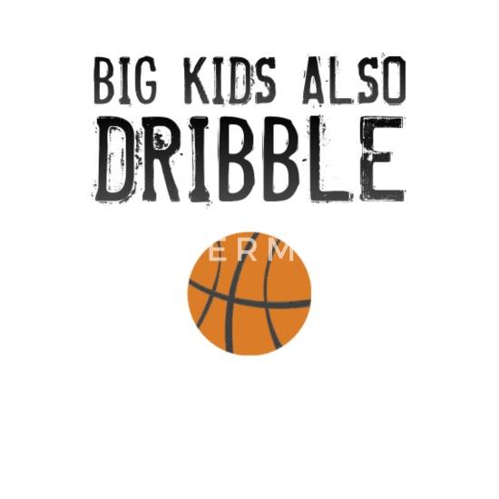 low cost 3f92e 71573 Große Kinder tröpfeln auch lustiger Mann-Frauen-Basketball Untersetzer  (4er-Set) - Weiß