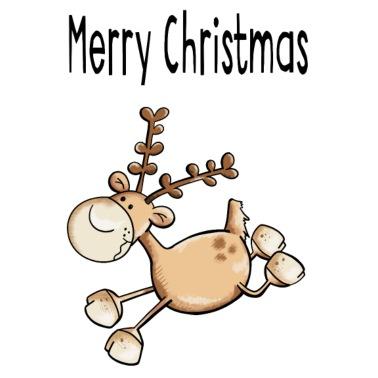 Bilder Rentiere Weihnachten.Weihnachten Rentier Herz Untersetzer 4er Set Weiß