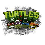 Teenage Shirt 'TURTLES'