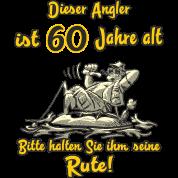 Dieser Angler Ist 60 Jahre Geburtstag Rahmenlos G Manner T Shirt
