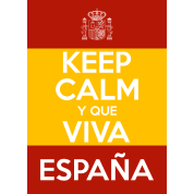Keep Calm y que viva España