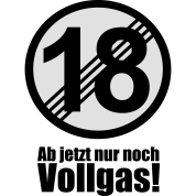 18 Jahre Lustiges Schild 18 Geburtstag Manner T Shirt Spreadshirt