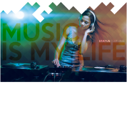 Music Is My Life Mens