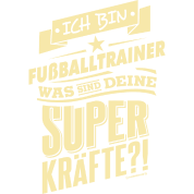 Superkrafte Fussballtrainer Geburtstags Geschenk Rahmenlos Shirt