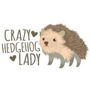 crazy hedgehog lady