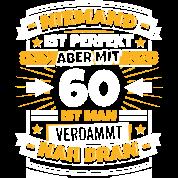 Lustiger Spruch 60 Geburtstag Männer Premium T Shirt
